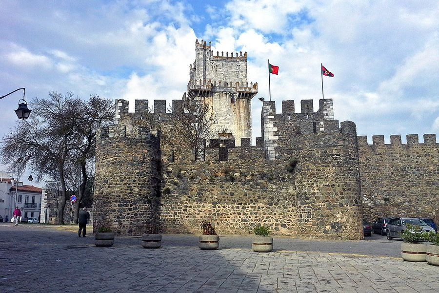 Castelo de Beja, Alentejo, Portugal